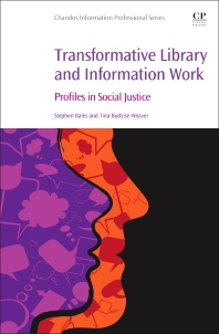 Cover image for Transformative Library and Information Work