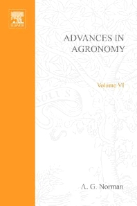 Advances in Agronomy - 1st Edition - ISBN: 9780120007066, 9780080563190