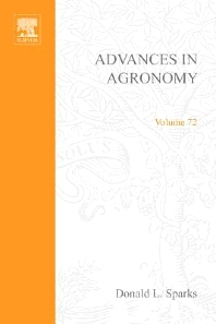 Advances in Agronomy, 1st Edition,Donald L Sparks,ISBN9780120007721