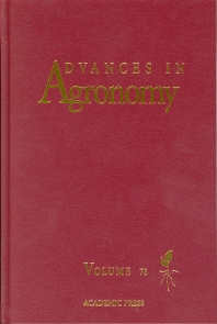 Advances in Agronomy, 1st Edition,Donald Sparks,ISBN9780120007967