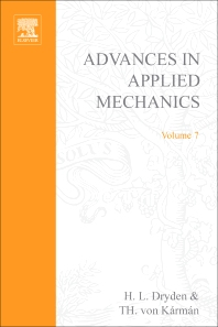 Advances in Applied Mechanics - 1st Edition - ISBN: 9780120020072, 9780080563855