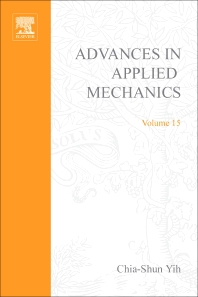 Advances in Applied Mechanics - 1st Edition - ISBN: 9780120020157, 9780080563930