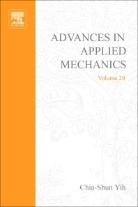 Advances in Applied Mechanics - 1st Edition - ISBN: 9780120020201, 9780080563985