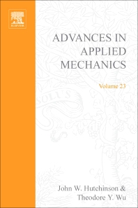 Advances in Applied Mechanics - 1st Edition - ISBN: 9780120020232, 9780080564012