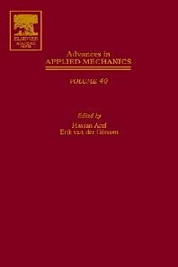 Advances in Applied Mechanics, 1st Edition,Erik van der Giessen,Hassan Aref,ISBN9780120020409