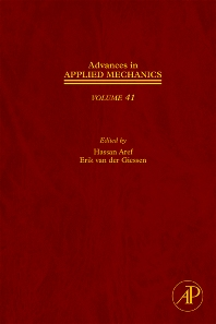 Advances in Applied Mechanics, 1st Edition,Erik van der Giessen,Hassan Aref,ISBN9780120020577