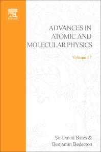 Advances in Atomic and Molecular Physics - 1st Edition - ISBN: 9780120038176, 9780080564777