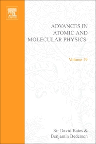 Advances in Atomic and Molecular Physics - 1st Edition - ISBN: 9780120038190, 9780080564791