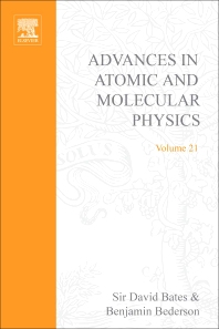 Advances in Atomic and Molecular Physics - 1st Edition - ISBN: 9780120038213, 9780080564814