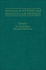 Advances in Atomic and Molecular Physics - 1st Edition - ISBN: 9780120038237, 9780080564838