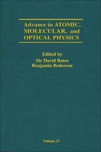 Advances in Atomic, Molecular, and Optical Physics - 1st Edition - ISBN: 9780120038275, 9780080561387