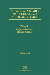 Advances in Atomic, Molecular, and Optical Physics - 1st Edition - ISBN: 9780120038367, 9780080561479