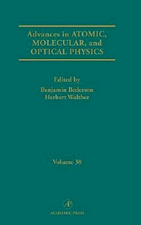 Advances in Atomic, Molecular, and Optical Physics - 1st Edition - ISBN: 9780120038381, 9780080561493
