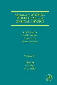 Advances in Atomic, Molecular, and Optical Physics - 1st Edition - ISBN: 9780120038534, 9780080462547