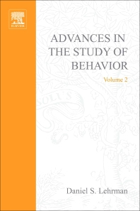 Advances in the Study of Behavior - 1st Edition - ISBN: 9780120045020, 9780080582634