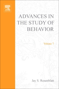 Advances in the Study of Behavior - 1st Edition - ISBN: 9780120045075, 9780080582689