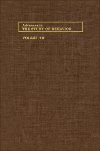 Advances in the Study of Behavior - 1st Edition - ISBN: 9780120045198, 9780080582801