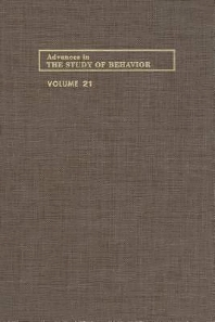 Cover image for Advances in the Study of Behavior