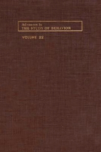 Advances in the Study of Behavior - 1st Edition - ISBN: 9780120045228, 9780080582832