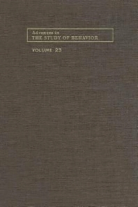 Advances in the Study of Behavior - 1st Edition - ISBN: 9780120045235, 9780080582849
