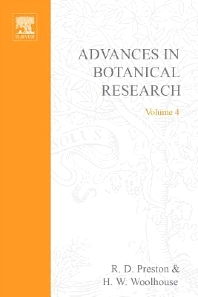 Advances in Botanical Research - 1st Edition - ISBN: 9780120059041, 9780080561585