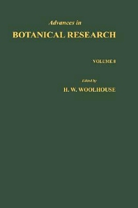 Advances in Botanical Research - 1st Edition - ISBN: 9780120059089, 9780080561622