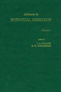 Advances in Botanical Research - 1st Edition - ISBN: 9780120059119, 9780080561653