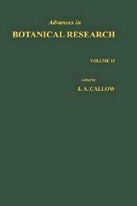 Advances in Botanical Research - 1st Edition - ISBN: 9780120059157, 9780080561691