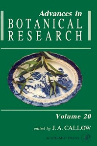 Advances in Botanical Research - 1st Edition - ISBN: 9780120059201, 9780080561745