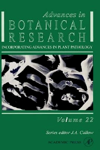 Advances in Botanical Research - 1st Edition - ISBN: 9780120059225, 9780080561769
