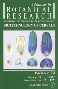Biotechnology of Cereals - 1st Edition - ISBN: 9780120059348, 9780080953045