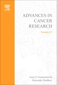 Advances in Cancer Research - 1st Edition - ISBN: 9780120066049, 9780080561882