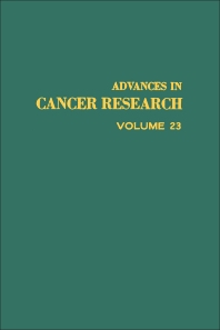 Advances in Cancer Research - 1st Edition - ISBN: 9780120066230, 9780080562056