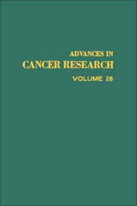Advances in Cancer Research - 1st Edition - ISBN: 9780120066285, 9780080562100