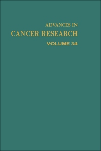 Advances in Cancer Research - 1st Edition - ISBN: 9780120066346, 9780080562162