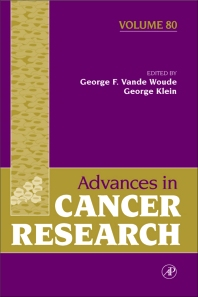 Advances in Cancer Research - 1st Edition - ISBN: 9780120066803, 9780080524382