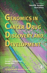 Genomics in Cancer Drug Discovery and Development, 1st Edition,George Vande Woude,George Klein,Garret Hampton,Karol Sikora,ISBN9780120066964