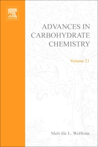 Advances in Carbohydrate Chemistry - 1st Edition - ISBN: 9780120072217, 9780080562803
