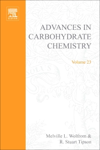 Advances in Carbohydrate Chemistry - 1st Edition - ISBN: 9780120072231, 9780080562827