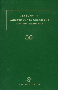 Advances in Carbohydrate Chemistry and Biochemistry, 1st Edition,Derek Horton,ISBN9780120072569
