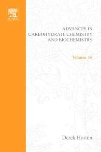 Advances in Carbohydrate Chemistry and Biochemistry, 1st Edition,Derek Horton,ISBN9780120072583