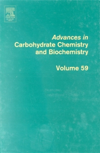 Advances in Carbohydrate Chemistry and Biochemistry, 1st Edition,Derek Horton,ISBN9780120072590