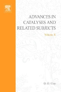 Advances in Catalysis - 1st Edition - ISBN: 9780120078103, 9780080565149
