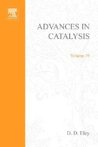 Advances in Catalysis - 1st Edition - ISBN: 9780120078196, 9780080565231