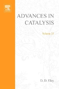 Advances in Catalysis - 1st Edition - ISBN: 9780120078257, 9780080565293