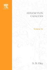 Cover image for Advances in Catalysis