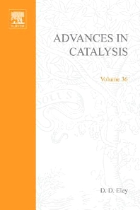 Advances in Catalysis - 1st Edition - ISBN: 9780120078363, 9780080565408