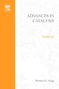 Advances in Catalysis - 1st Edition - ISBN: 9780123993090, 9780080565477