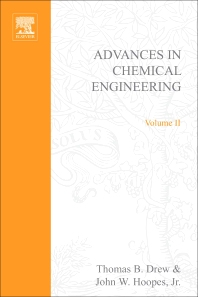 Advances in Chemical Engineering - 1st Edition - ISBN: 9780120085026, 9780080565491