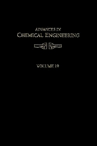 Advances in Chemical Engineering - 1st Edition - ISBN: 9780123994028, 9780080565668